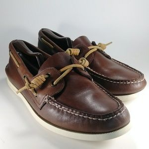 Sperry Authentic Original Leather Boat Shoe 9.5